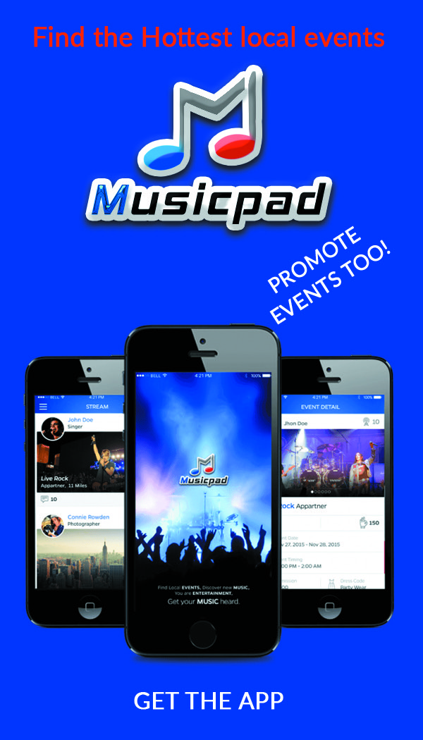Event Marketing App, MusicPad, Event Marketing App, MusicPad ap, music pad events, events,music events, concerts, new app, music app, concert app, music, technology, new york hiphop blog