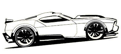Carros Para Colorear Hot Wheels Dibujo De Hot Wheels 11 Para