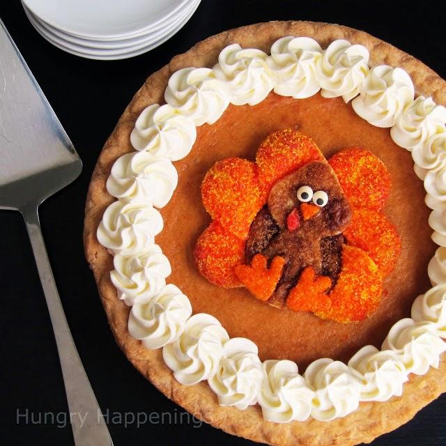 Elsie Park: Decorative Pumpkin Pie Crusts