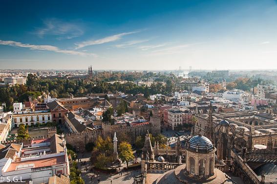 Vistas de Sevilla desde la Giralda. 10 visitas imprescindibles de Sevilla