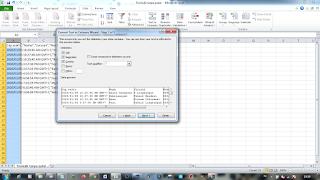 merubah file csv ke excel 2010