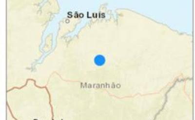 Terremoto de 4.6 atingiu vários localidades no Maranhão