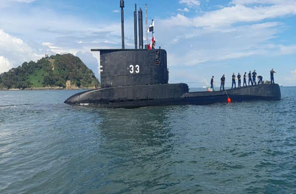 El BAP Pisagua ya se encuentra en Panamá rumbo a los Estados Unidos para participar del SUBDIEX-2020