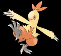 Combusken Pokemón