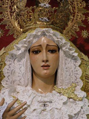 Horario e Itinerario del Rosario vespertino con la imagen de la Virgen de la Esperanza del Juncal. Sevilla 19/10/2019