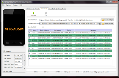 Flash UlangBypass Akun Google Lava Iris 758 4G Via SP Flashtool