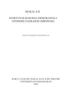 format kerangka makalah