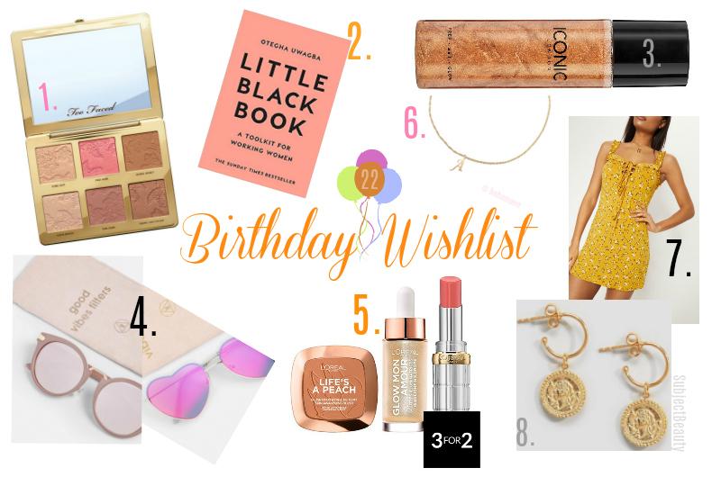 Birthday Wishlist 22