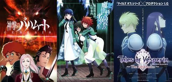 Daftar Anime Magic Terbaik Lainnya