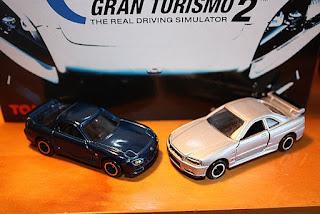tomica gran turismo 2 set