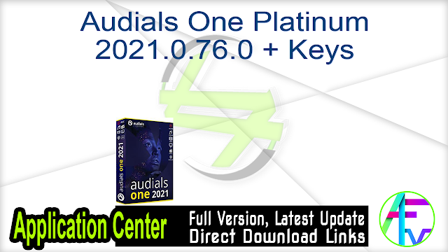 Audials One Platinum 2021.0.76.0 + Keys