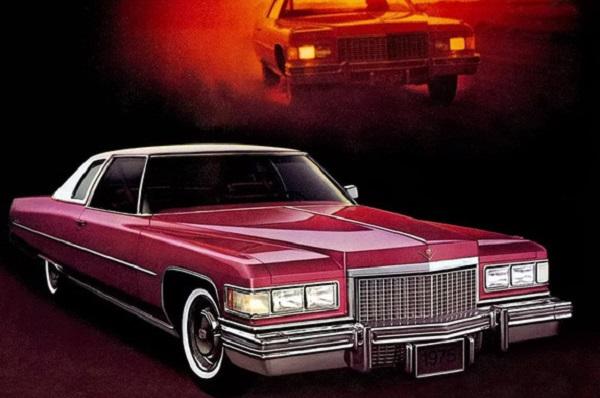 Ficha Técnica: Cadillac Coupé De Ville (1975)