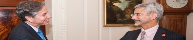 US Secretary of State Blinken Reaffirms Biden's Commitment To Deepen India-US Ties