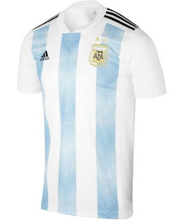 Jersey Argentina Home Piala Dunia 2018