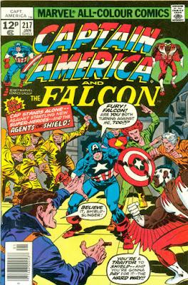 Captain America and the Falcon #217