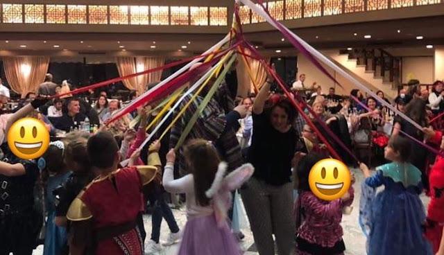 Με μεγάλη επιτυχία ο αποκριάτικος χορός του Συλλόγου Γονέων του Αγγελοπούλειου Δημοτικού Ανυφίου