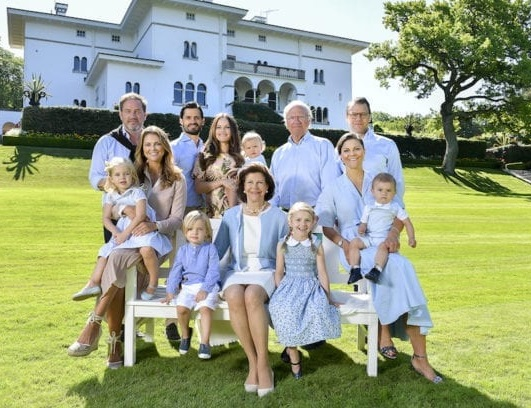 العائلة المالكة السويدية