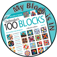 Quiltmaker 100 Blocks - Slice of Pi Quilts