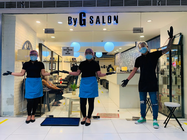 Salons and Barbershops open at SM Malls