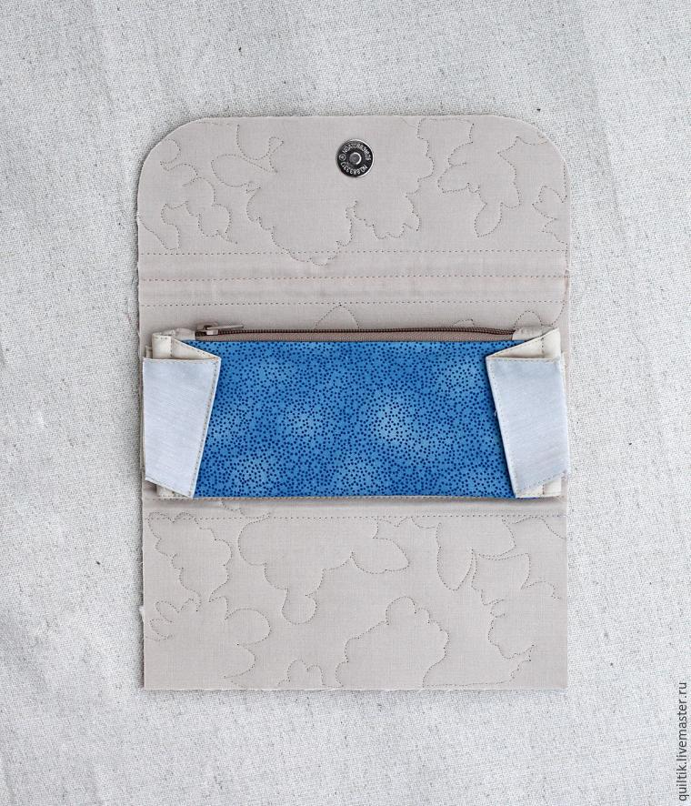 Accordion Fabric Wallet Tutorial