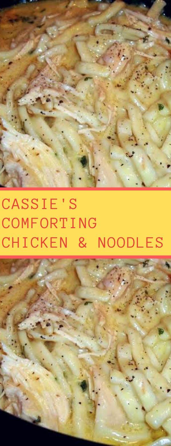 Cassie's Comforting Chicken & Noodles