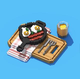 Voxel Breakfast