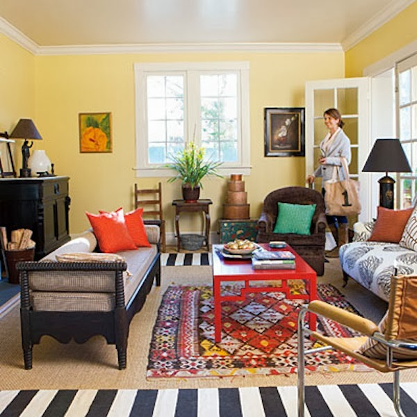 How Many Floor Layers Should A Home Have  C2NyYXBlLTEtcjVQU3VL: Sweet Chaos Home: Sweet Ideas For Getting Cozy: Take One