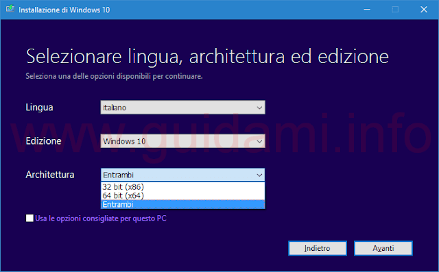 Download Windows 10 Update Novembre 1511 da Media Creation Tool