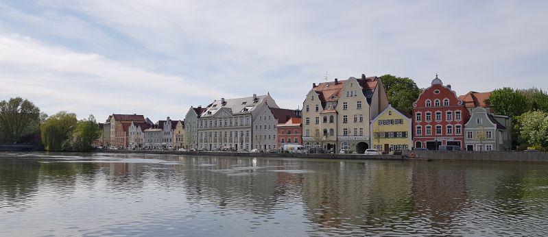 Ostermontag 2019 Isar in Landshut