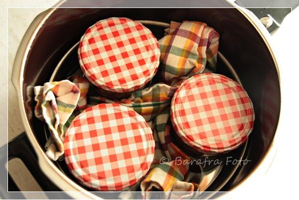 barafras kochl ffel einkochen von kleinen mengen im schnellkochtopf dampfdrucktopf. Black Bedroom Furniture Sets. Home Design Ideas