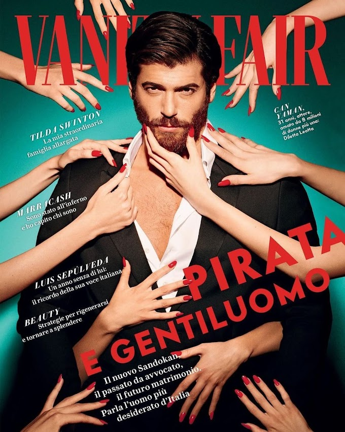 "Can Yaman: ""In love I act on instinct"". The new cover of Vanity Fair"