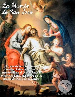 Resultado de imagen para De la muerte de San José