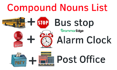 Compound Nouns List with Examples