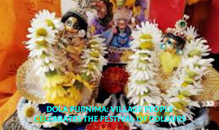 Dola Purnima: Village people celebrates the festival of Colours