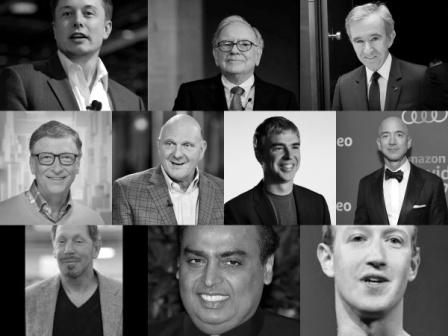 list of richest persons in the world