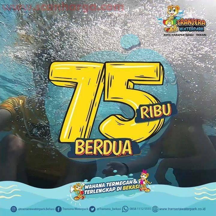 Promo Transera Waterpark Harga Heboh Tiket Masuk Buat Berdua Cuma Rp 75Ribu Periode 22-23 agustus 2020