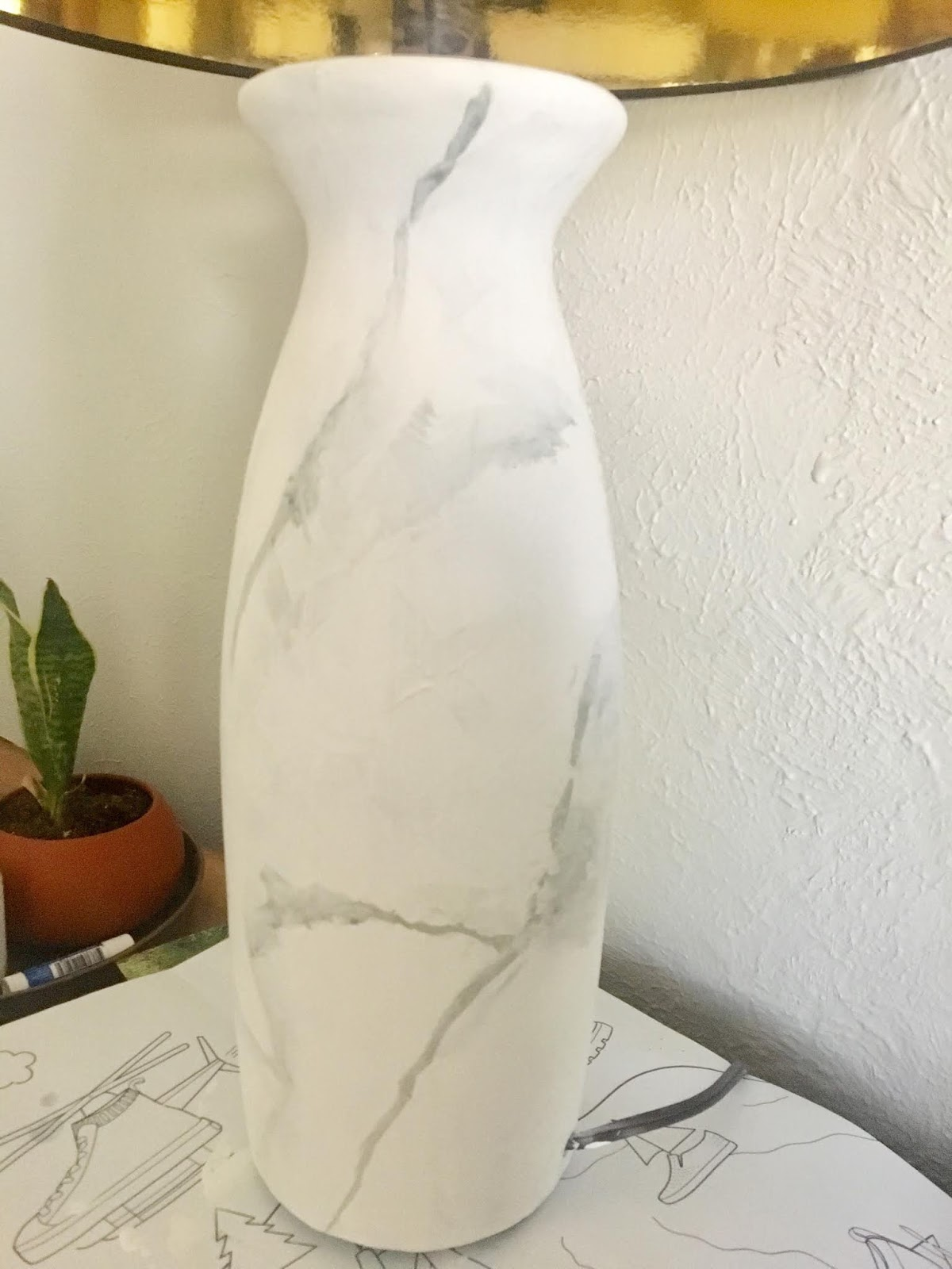 Marble Lamp Knock Off | House Homemade