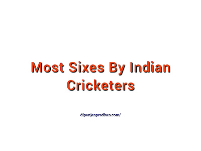 Indian Cricketers Who Hit Most Sixes in International Cricket