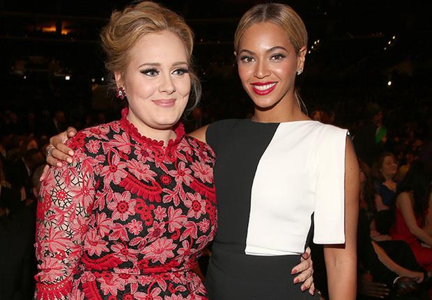 """Adele alaba a Beyoncé por su álbum """"Lemonade""""."""