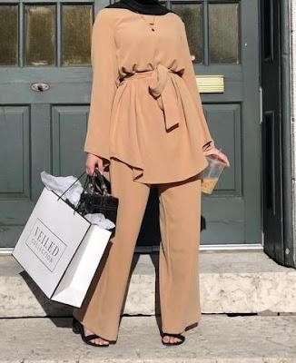 Hijab turque 2022 couleur marron