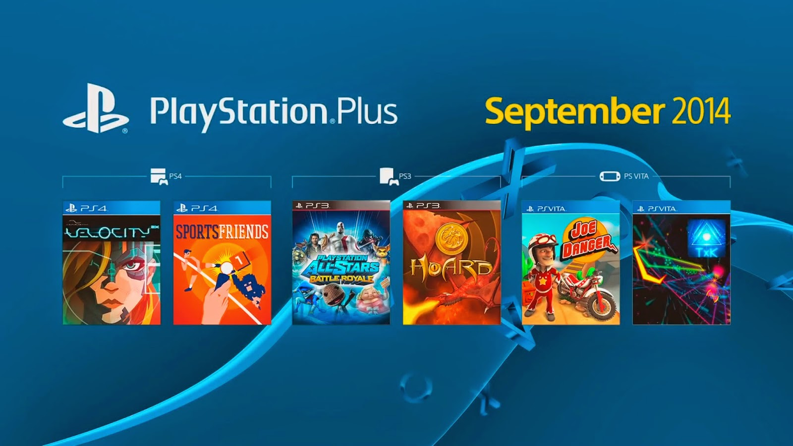 image : PlayStation Plus du mois de Septembre