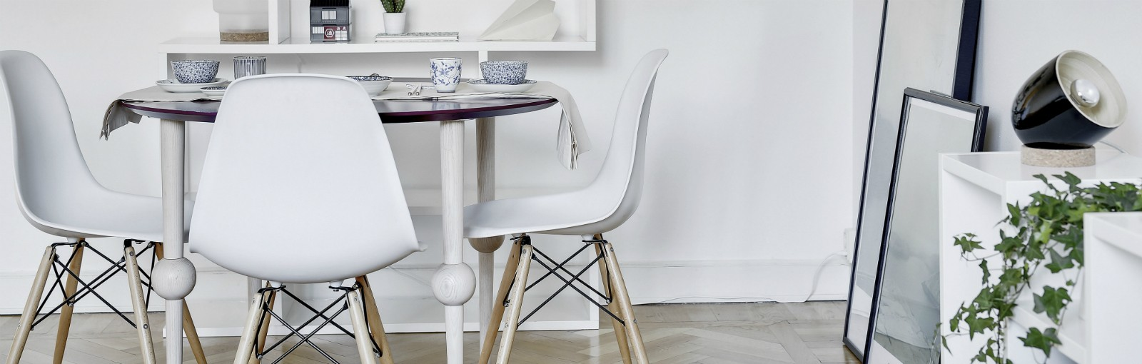 Nogi stołowe, dekoracja