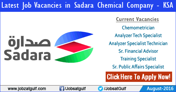 Latest Job Vacancies in Sadara Chemical Company - KSA ...