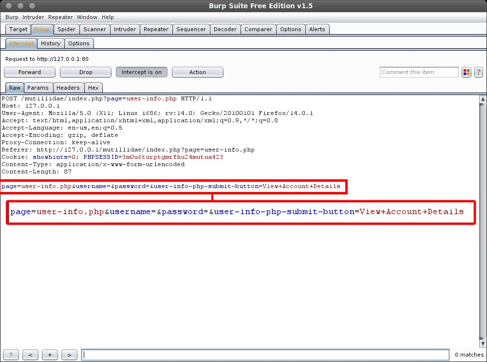 SQL Injection With Burpsuite and SQLmap
