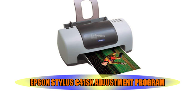 Epson Stylus C41SX Printer Adjustment Program