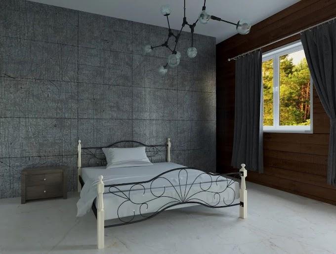 Кровать металлическая Виталина 120х190/200 ТМ Мадера