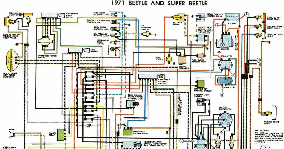 2010 Mini Cooper Fuse Diagram Wiring For A Delco Car Radio Free Auto Diagram: 1971 Vw Beetle And Super