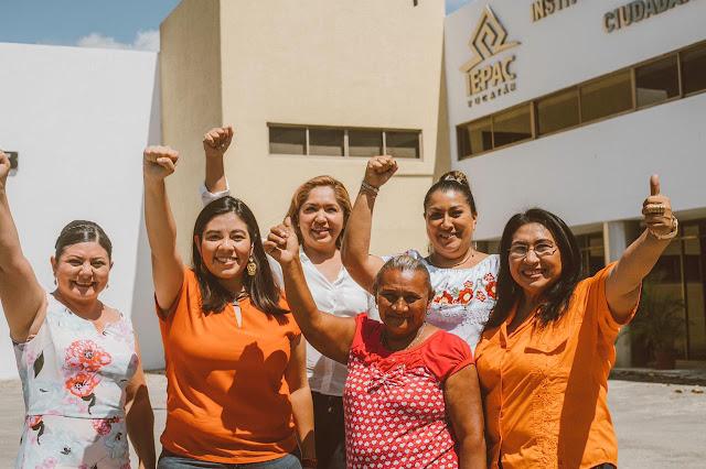 Registra Movimiento Ciudadano a las primeras candidatas a presidentas municipales