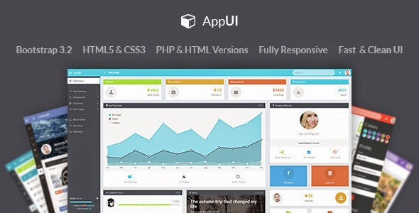 free bootstrap admin template