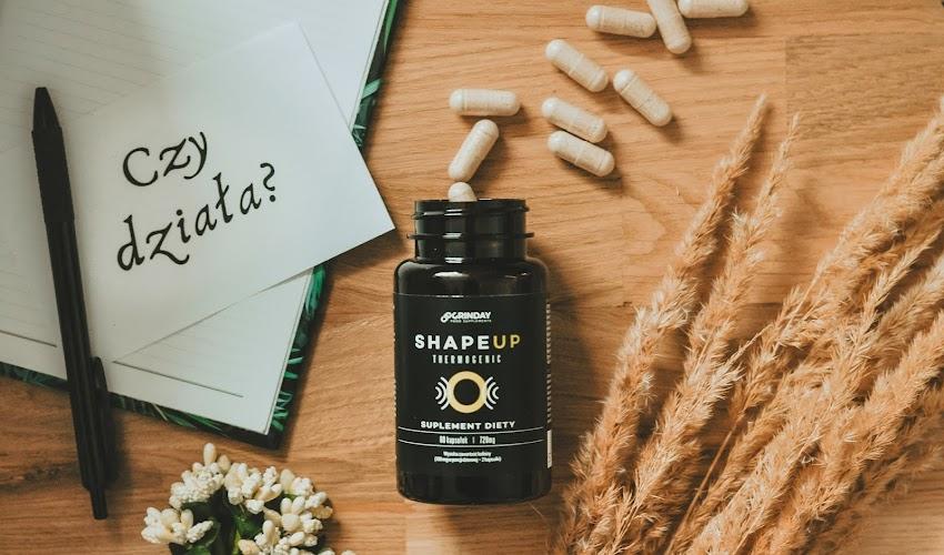 Czy spalacz tłuszczu Grinday Shape Up działa? Poznaj moją opinie po stosowaniu suplementu.